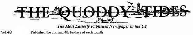 Eastport Maine  The Quoddy Tides newspaper